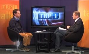 Christian Biller im Studiogespräch bei TRP1