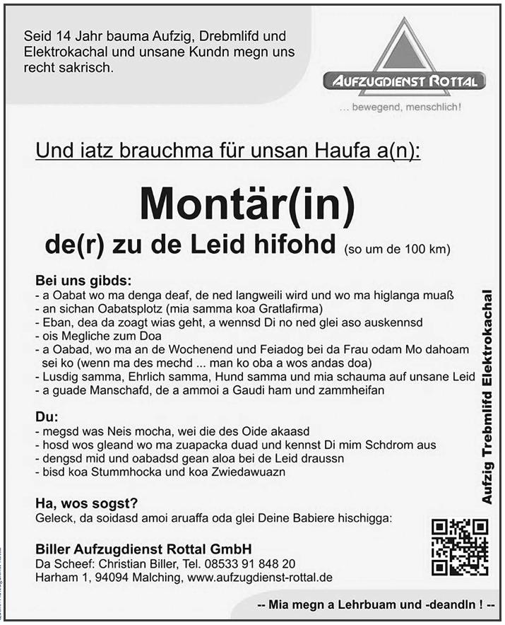 Aufzugdienst-Rottal-Methodik