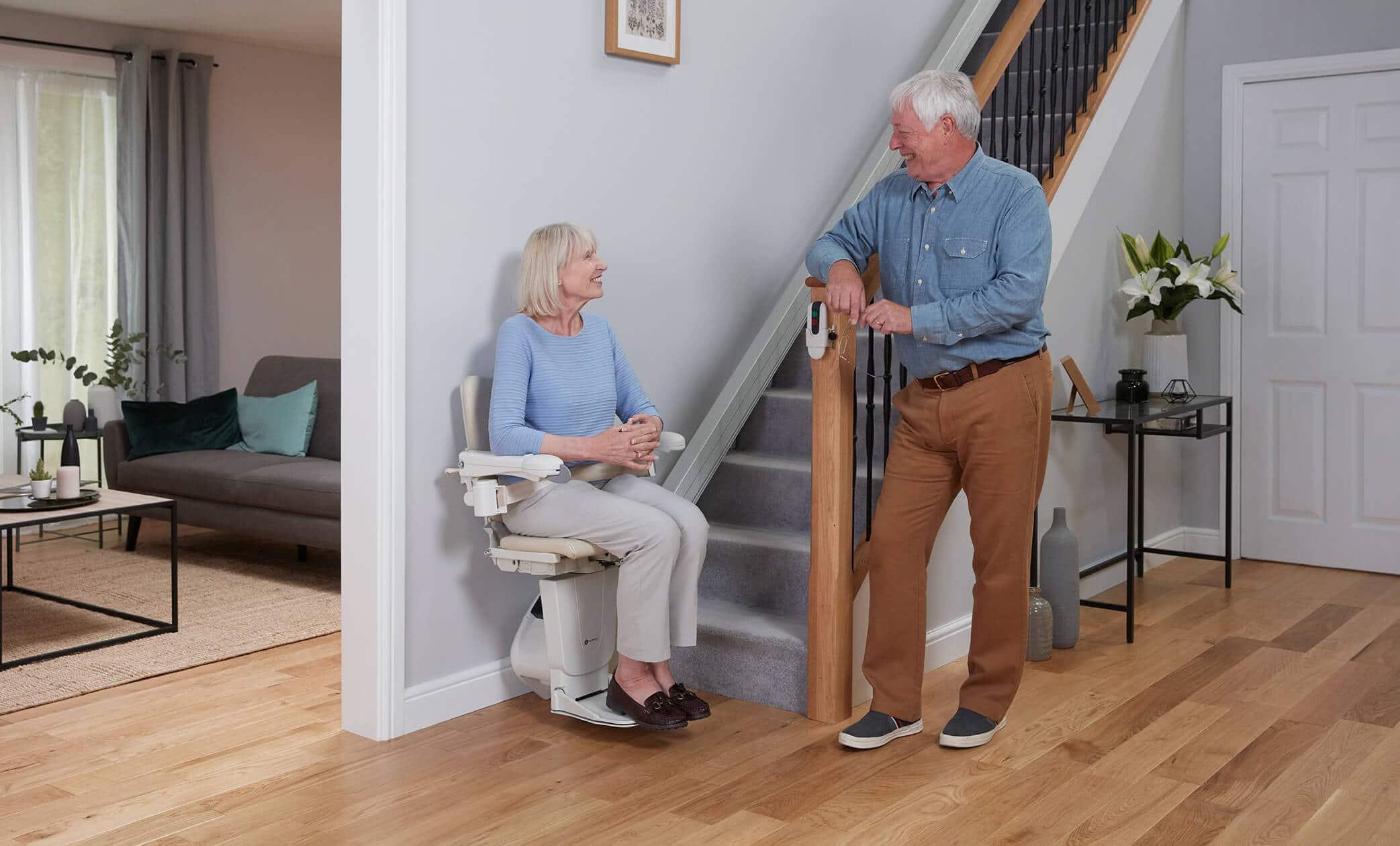 handicare treppenlift gerade treppe